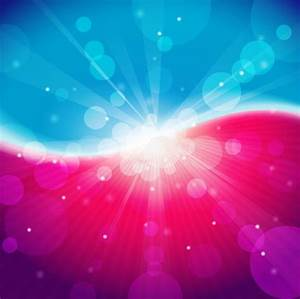 Abstract Light Blue Pink Bokeh Background Free vector in ...