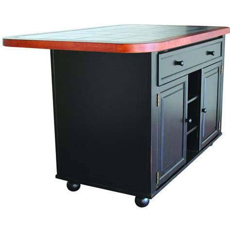 how to make a kitchen island with seating sunset trading kitchen island set black w inlaid granite 9788