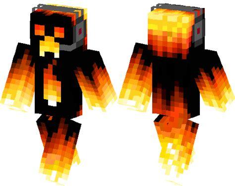 fire creeper minecraft skin minecraft hub