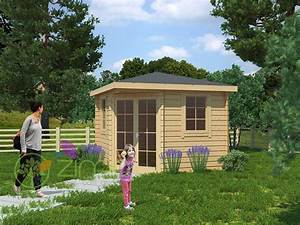 abris de jardin 28mm maison design wibliacom With maison bois toit plat 7 abri de jardin warwick 17 28mm avec terrasse direct abris