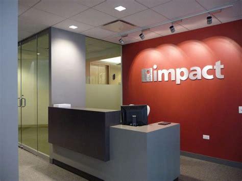 minimalist ikea reception desk design for impact company