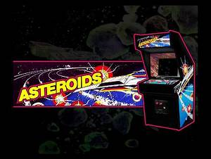 Asteroids - Classic Arcade Games & Video Games Background ...