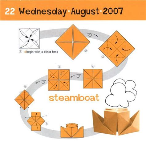 Boat Directions by Origami Boat Directions Row Row Row Your Boat