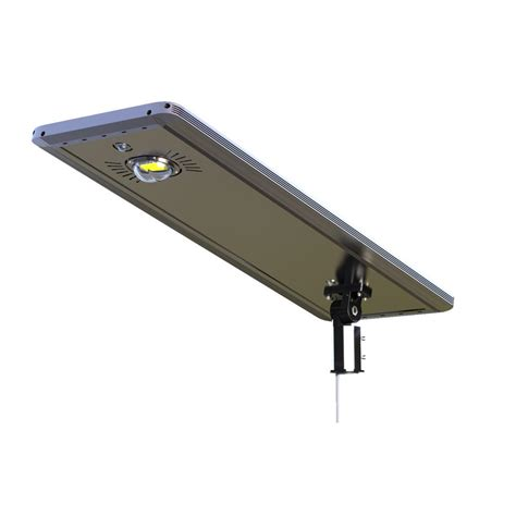 integrated led outdoor lighting eleding 30 watt gray solar ultra powerful motion activated