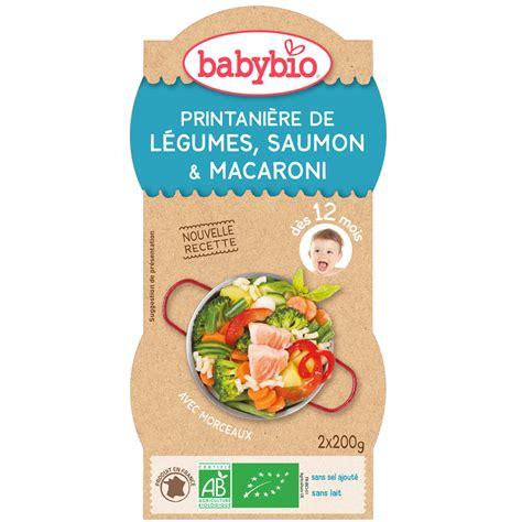 oignon chambre bébé légumes saumon pâtes au parmesan 200 g dès 12 mois de