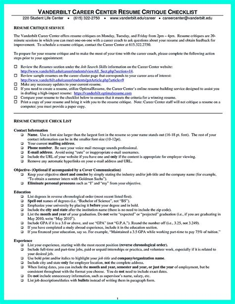 cool sle of college graduate resume with no experience