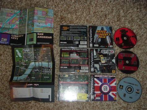 Grand Theft Auto, Gta 2, And Gta London (sony Ps1) All