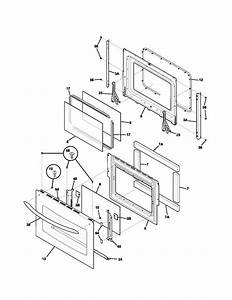 Kenmore Elite 79049063400 Electric Wall Oven Parts