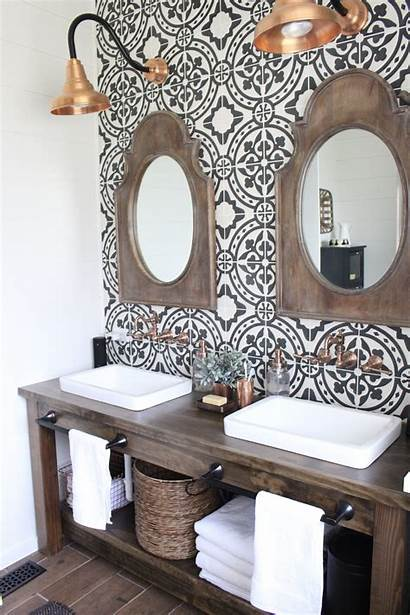 Farmhouse Bathroom Modern Remodel Master Tile Bath