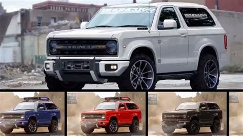 ford bronco  price  release date car review