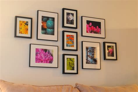 ikea picture wall gallery wall and how to hang ikea ribba frames