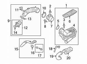 Volkswagen Beetle Mass Air Flow Sensor  Engine  Diesel