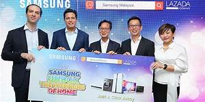 Samsung Brings Offline Stores Online With Lazada  Launches