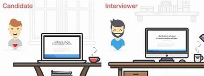 Interviews Candidate General Interviewer Different Explaining While