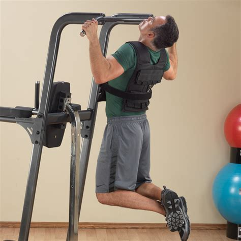 fcd fusion vertical knee raise dip pull up solid fitness