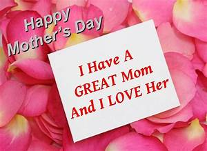 Mother's Day Quotes From Daughter | Mothers Day Poems And ...