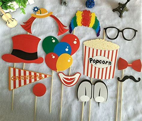 diy carnival photobooth home kitty paper carnival photo