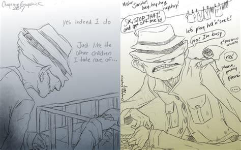 nightmares doodles   cageyshick  deviantart
