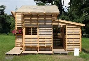 Kids Have Fun With Pallet Playhouse 101 Pallets