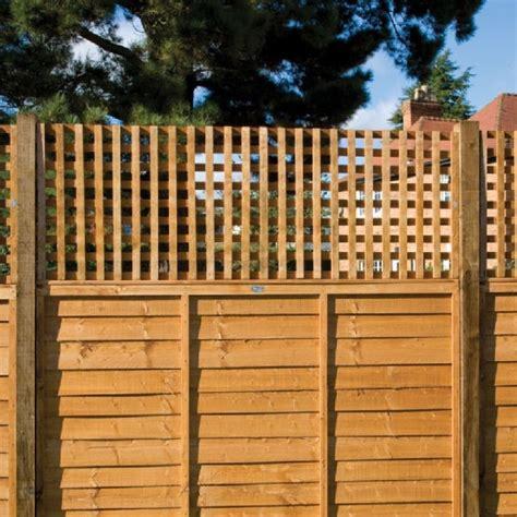 2ft Trellis Fence Panels by Grange Badminton Square Garden Trellis Packs 2ft High