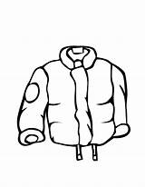 Winter Coat Coloring Raincoat Clothes Pages Jacket Clipart Drawing Line Clip Draw Clothing Rain Printable Coats Outfits Boots Cliparts Raincoats sketch template