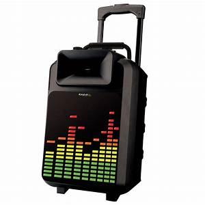Lautsprecher Für Draußen : led karaoke lautsprecher musik party funk mikrofon anlage mp3 bluetooth usb box ebay ~ Orissabook.com Haus und Dekorationen