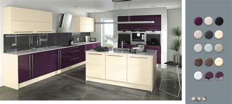 aubergine kitchen accessories gloss made to measure aubergine kitchens on 1385