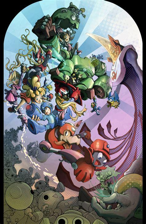Mega Man Tribute By Johndevlin On Deviantart