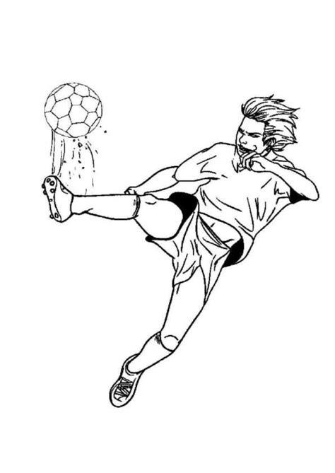 Voetbal Kleurplaat by Kleurplaten En Zo 187 Kleurplaat Voetbal