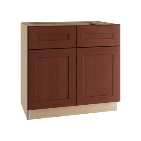 kitchen cabinet drawer fronts home decorators collection kingsbridge assembled 33x34 5373