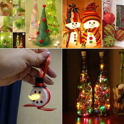 lighted christmas decorations