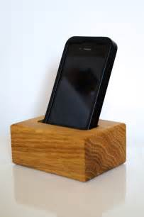Wooden Cell Phone Holder