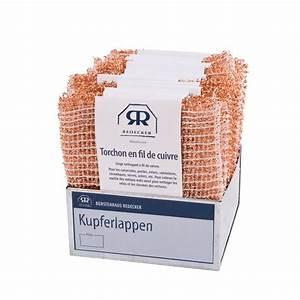 Nettoyer Du Cuivre : l ponge plate en fil de cuivre pour nettoyer le m tal ~ Melissatoandfro.com Idées de Décoration