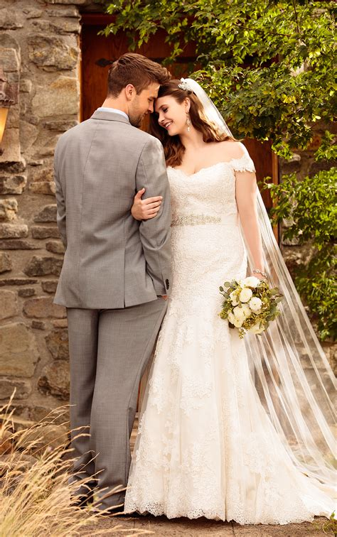 Beautiful Plus Size Lace Wedding Dresses Essense Of
