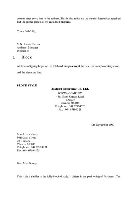 Formal Letter Format Muet Example Good Resume Template