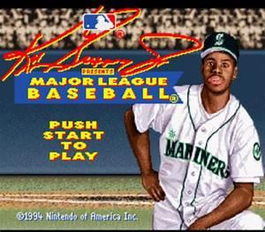 Ken Griffey Jr Presents Major League Baseball Usa Rom