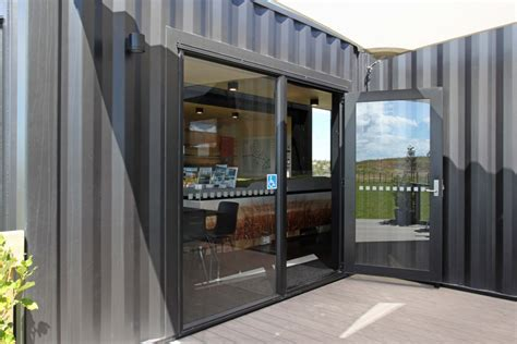 shipping container building wins design prize  vantage windows doors ebossnow eboss