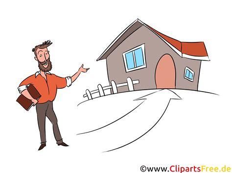 haus kaufen ueber makler clipart illustration bild