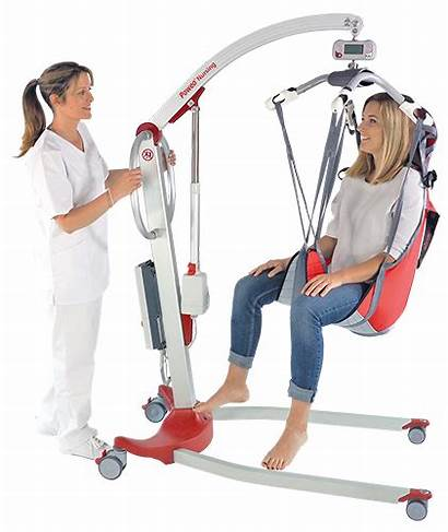 Nursing Patient Medical Transfer Hoists Floor Suspension