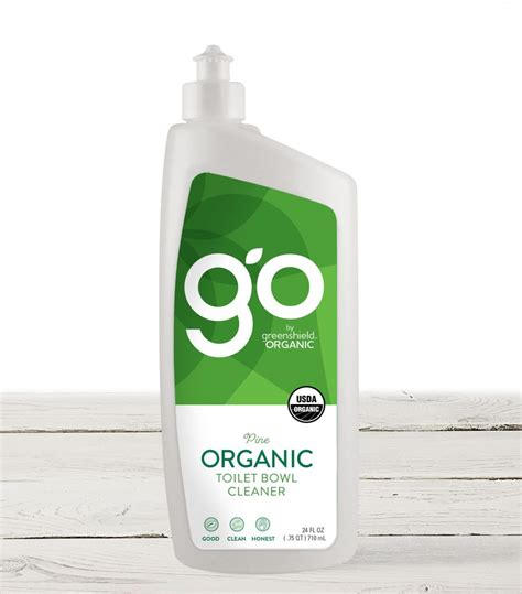 organic toilet bowl cleaner  pine greenshield organic