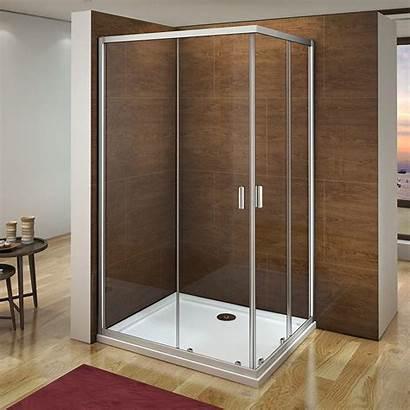 Shower Door Glass Corner Enclosure Walk Entry