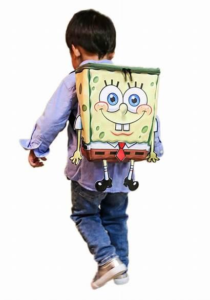 Spongebob Squarepants Character Backpack Gifts Fun Bob