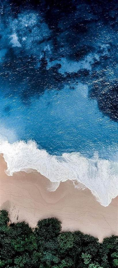 Ios Wallpapers Iphone Beach Water Wave Background