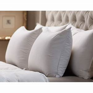 down inc medium sleeping 360 thread count filled down With down inc pillows