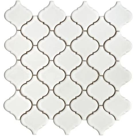 merola tile lantern 12 1 2 in x 12 1 2 in x 5 mm white