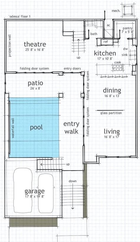 house plans with courtyard pools modern house with pool courtyard courtyard house