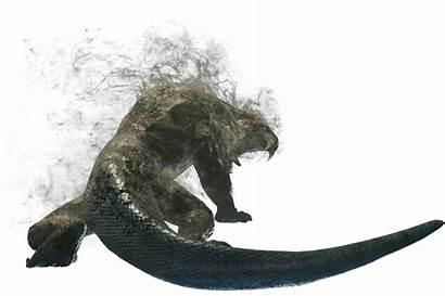 Girros Hunter Monster Effluvium Render Mhw Wiki