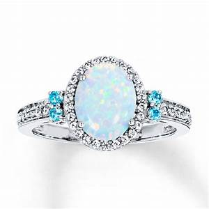 opal diamond rings wedding promise diamond engagement With opal wedding rings