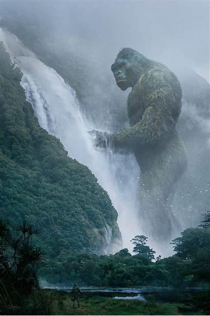 Kong Fan Artstation Godzilla Skull Island King