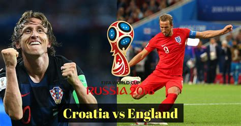 Croatia England Live Streaming World Cup Fifa Semi